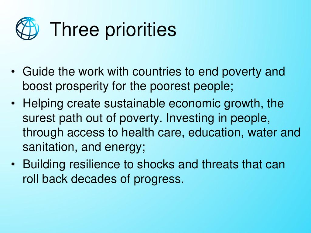 Education Is Surest Path Out Of Poverty >> Career In International Organization World Bank Ppt Download