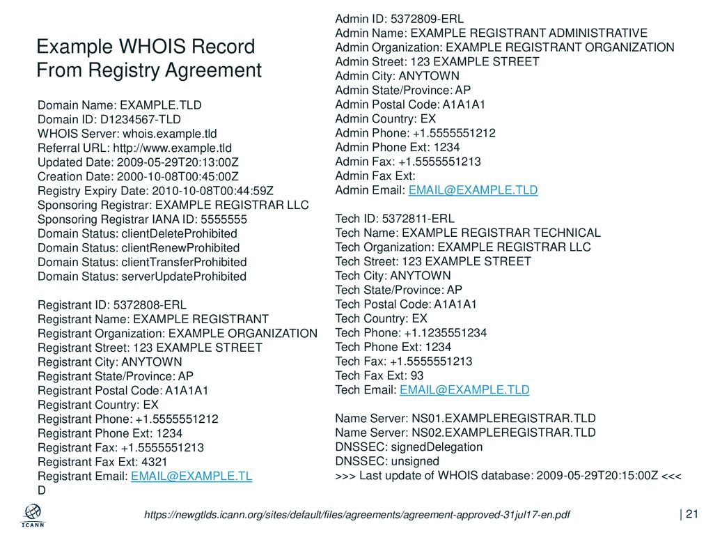 Next Generation Gtld Registration Directory Service Rds To Replace