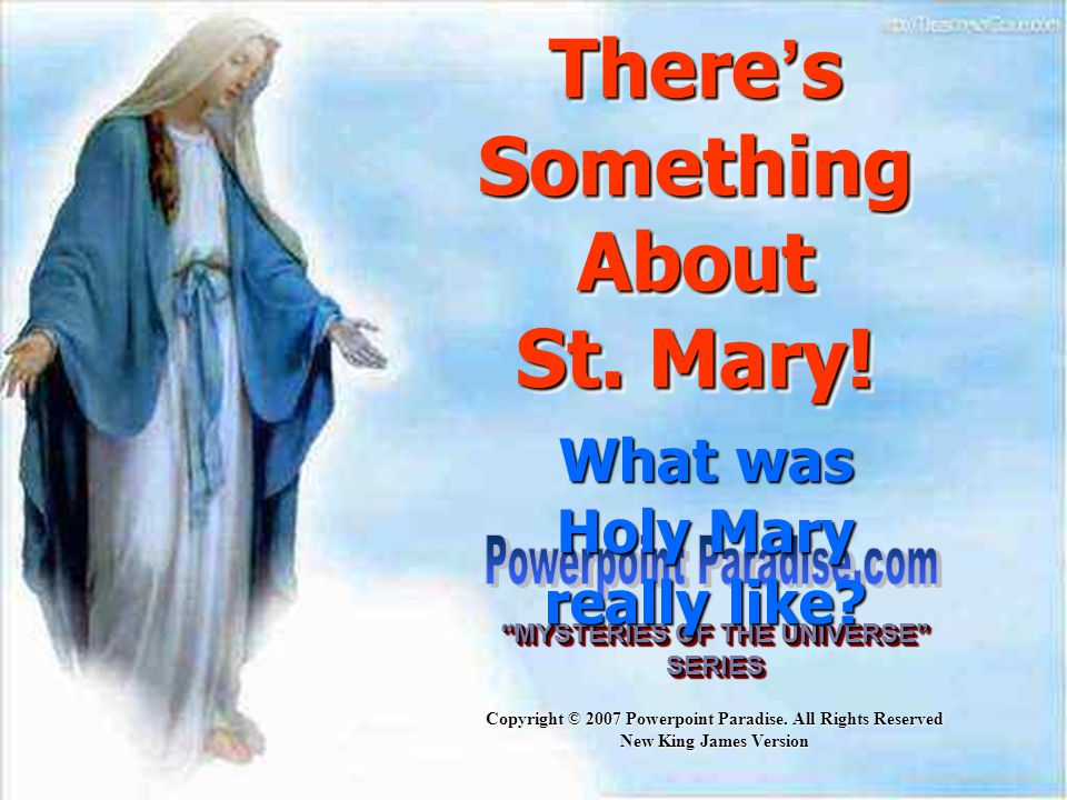 There's Something About St. Mary!