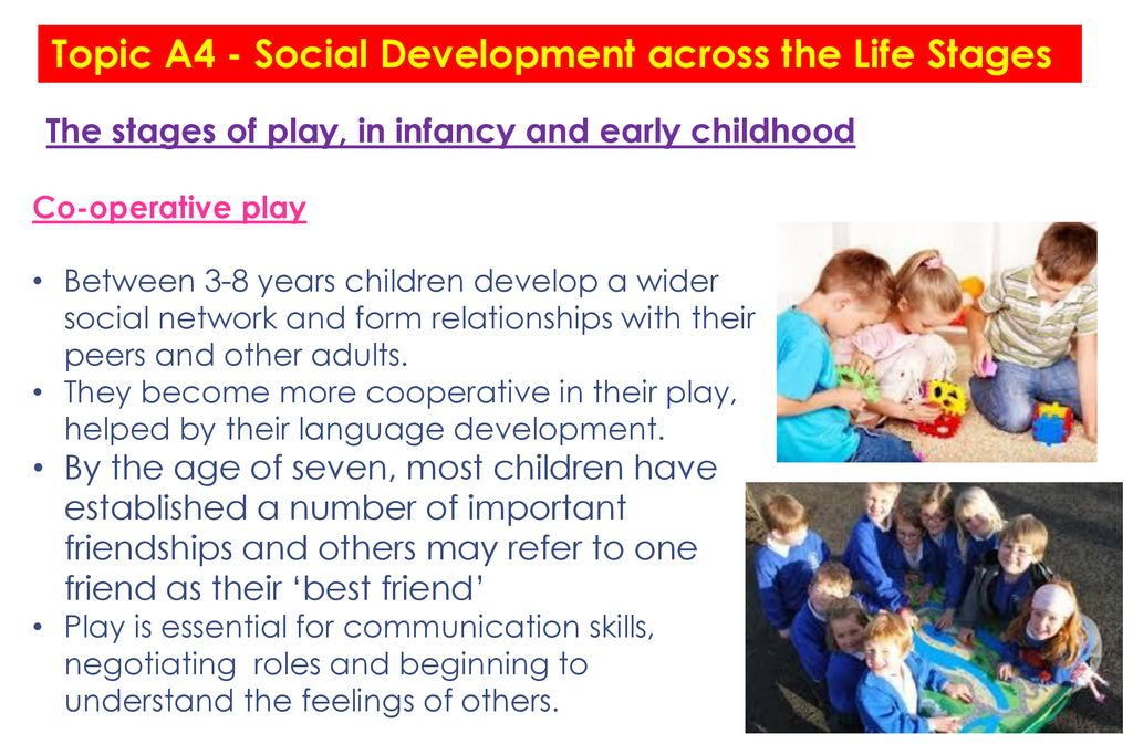development through the life stages
