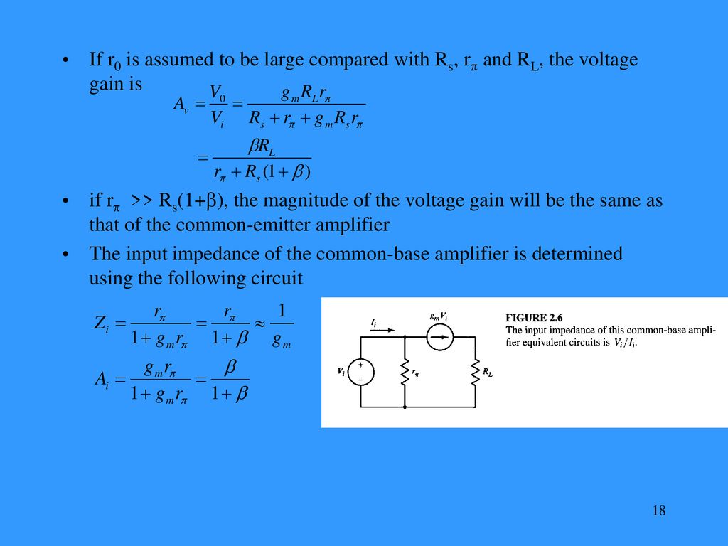 Integrated Circuits Design For Applications In Communications Ppt Common Emitter Amplifier A Simple Approach To Determining 18 If
