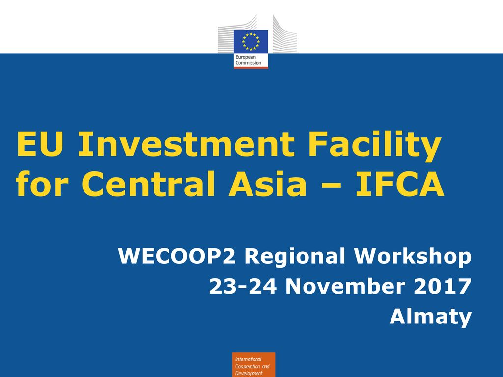 Investment facility for central asia ifca s corp and passive investment income