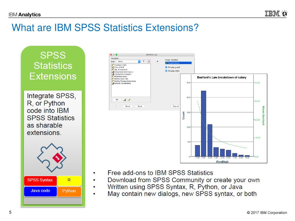 What is New in IBM SPSS Statistics v24 and v25 - ppt download