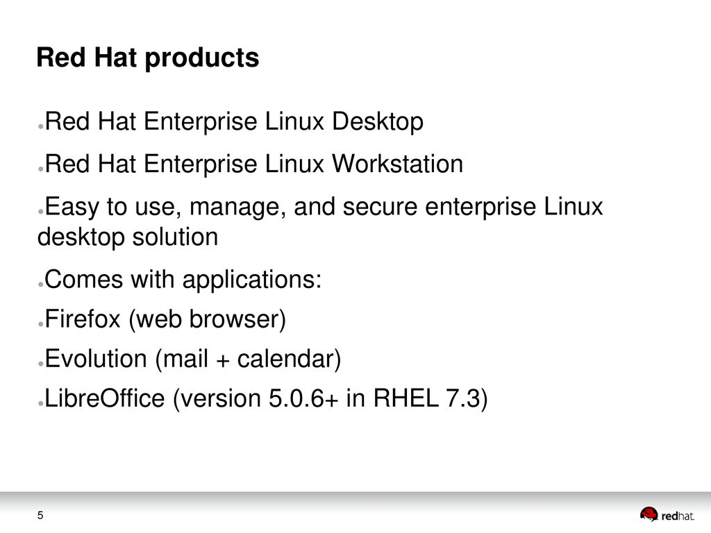 ODF, LibreOffice and Red Hat - ppt download