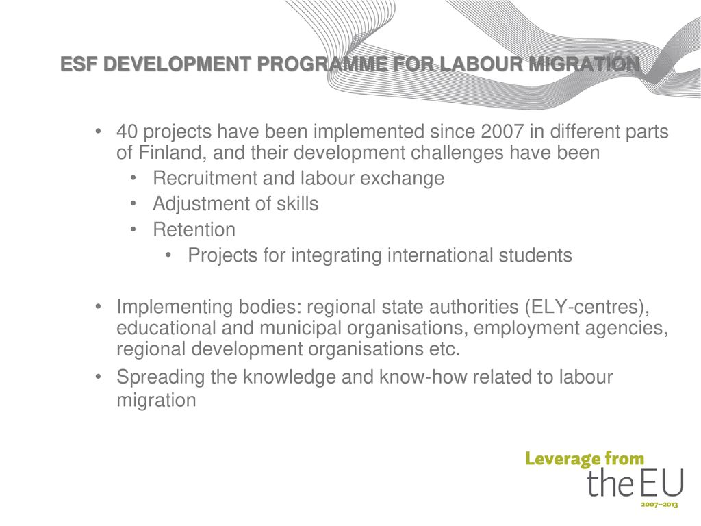 MATTO- Support Structure for Migration Programmes - ppt download c91580db97