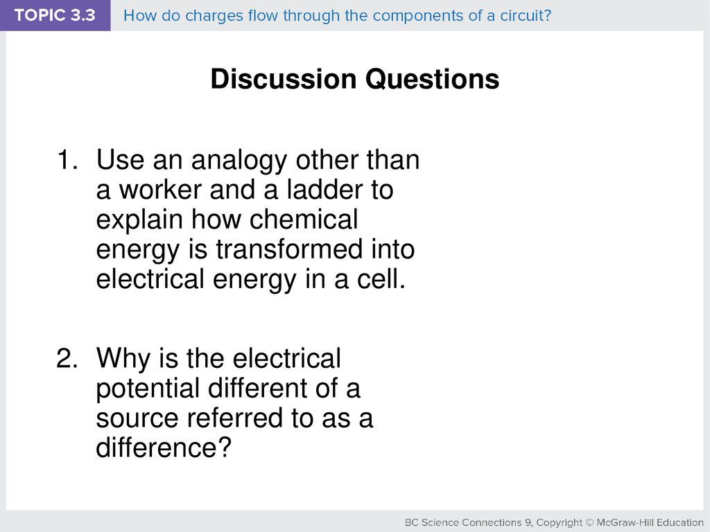 Bc Science Connections 9 Ppt Download Electric Circuit Questions Discussion
