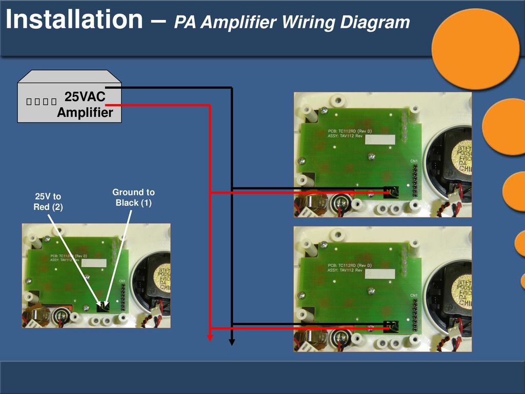 Igeacom Technical Training Ppt Download Pa Amp Wiring Diagram 58 Installation Amplifier