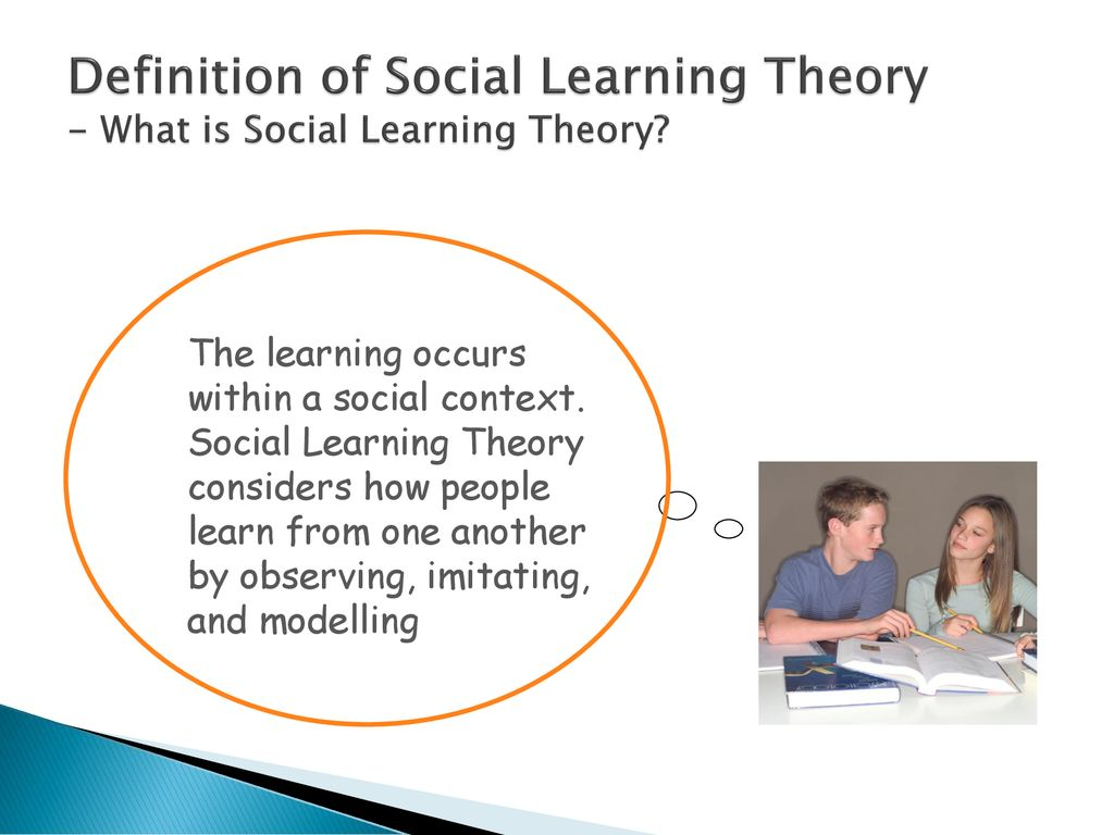 social learning theory - ppt download