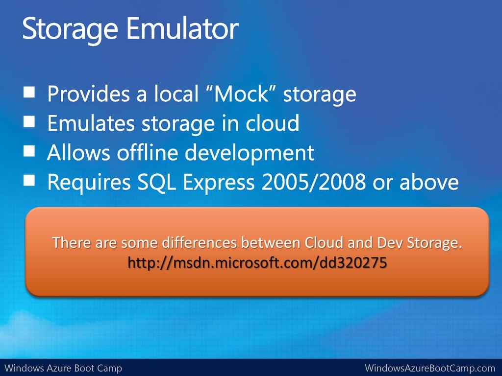 Windows Azure Storage Basics - ppt download