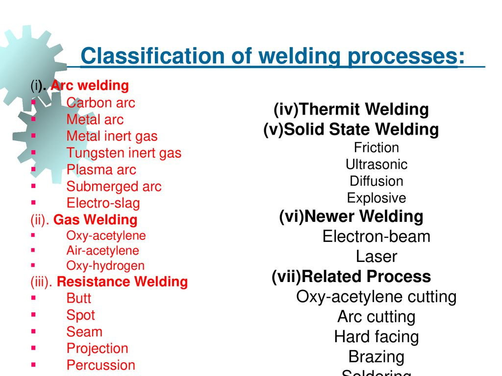 UNIT IV JOINING PROCESSES - ppt download