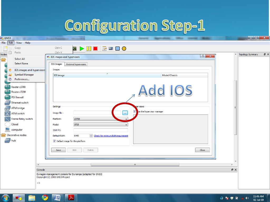Gns3 Layer 3 Switch Ios Download