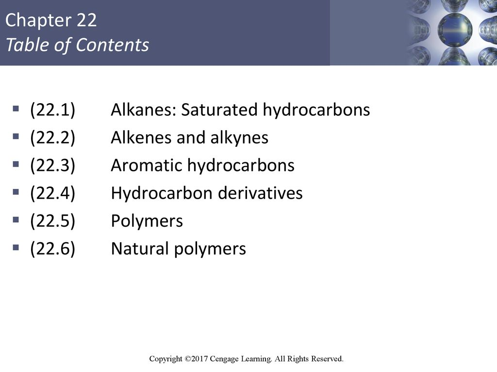 Saturated hydrocarbons: properties and applications 20