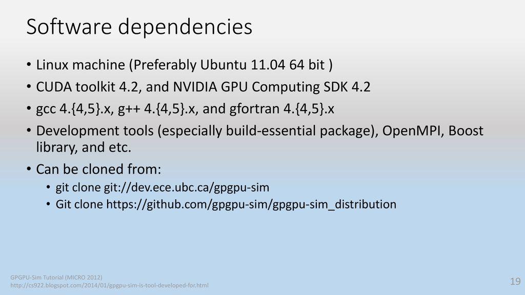 Analyzing CUDA Workloads Using a Detailed GPU Simulator - ppt download