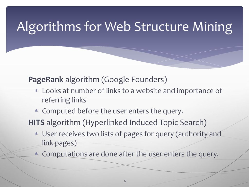 Chapter 7 Web Structure Mining - ppt download