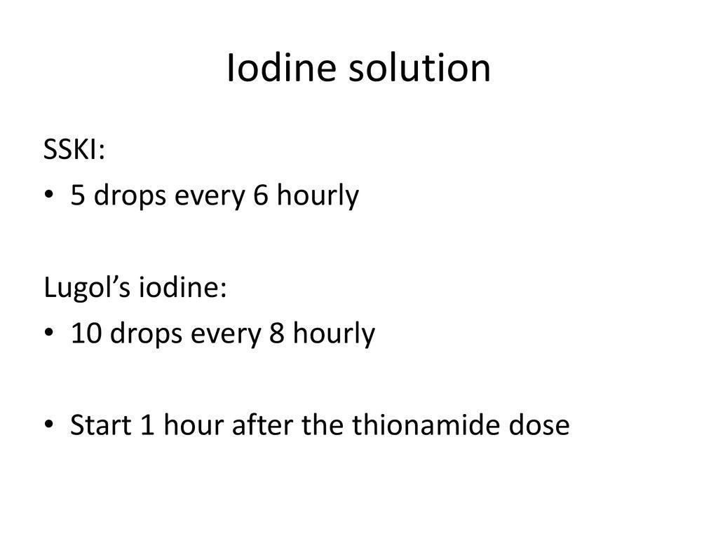 Thyroid disorder: Emergencies - ppt download