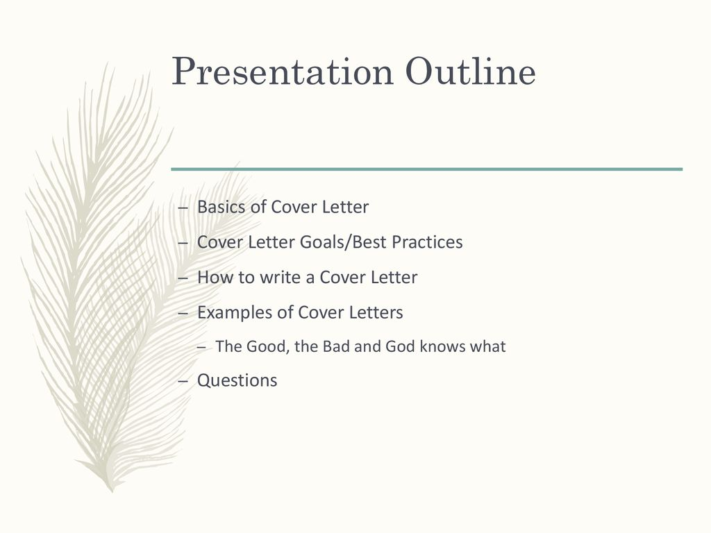 "How to Write an Effective ""Cover Letter""? - ppt download"