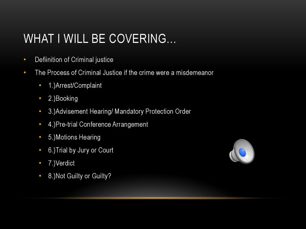 criminal justice by: shannon miller - ppt download