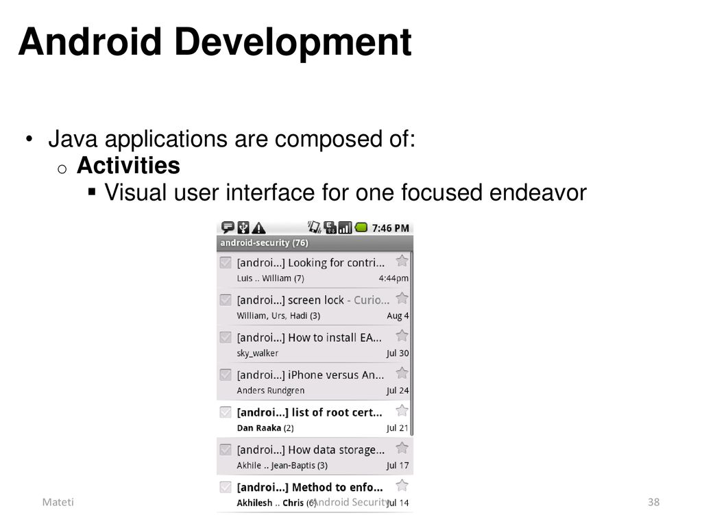 Android Security and Privacy #2 - ppt download