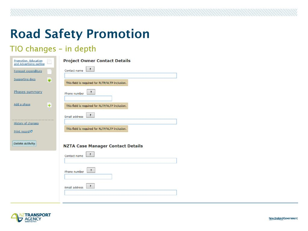Road Safety Promotion – detail for takeaway - ppt download