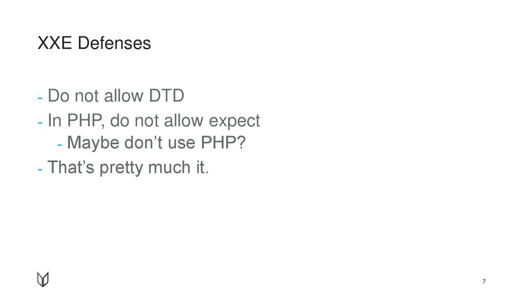 In PHP, do not allow expect Maybe don't use PHP