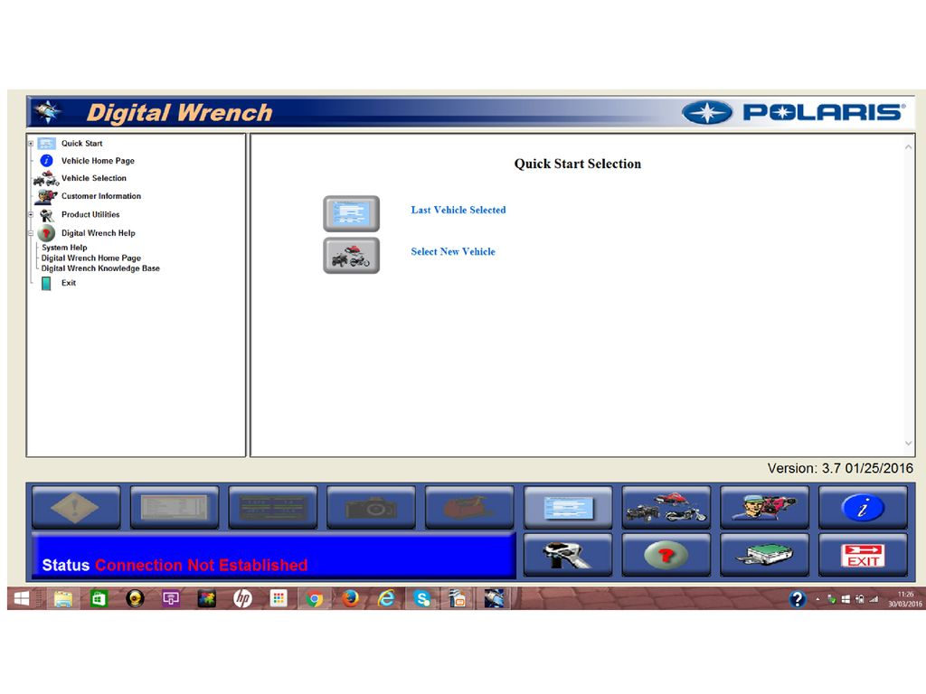Open The Digital Wrench And Go To Select New Vehicle Ppt Download