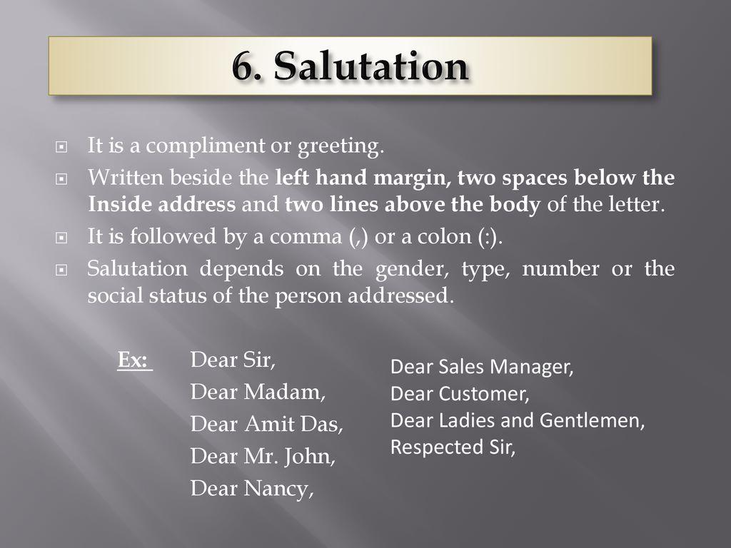 Ladies cover letter and gentlemen dear Dear Ladies