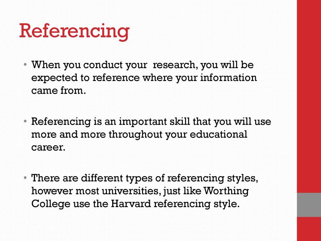 harvard referencing blog