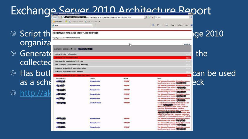 Exchange Server 2010 SP2 Tips & Tricks - ppt download