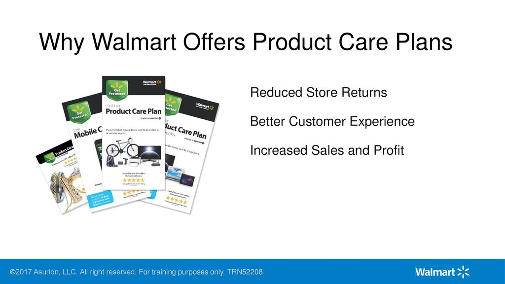 Walmart Product Care Plans - ppt download