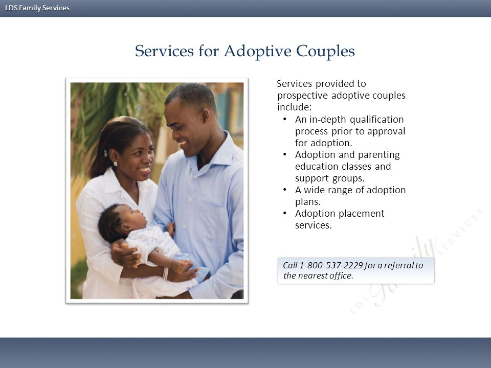 Services for Adoptive Couples