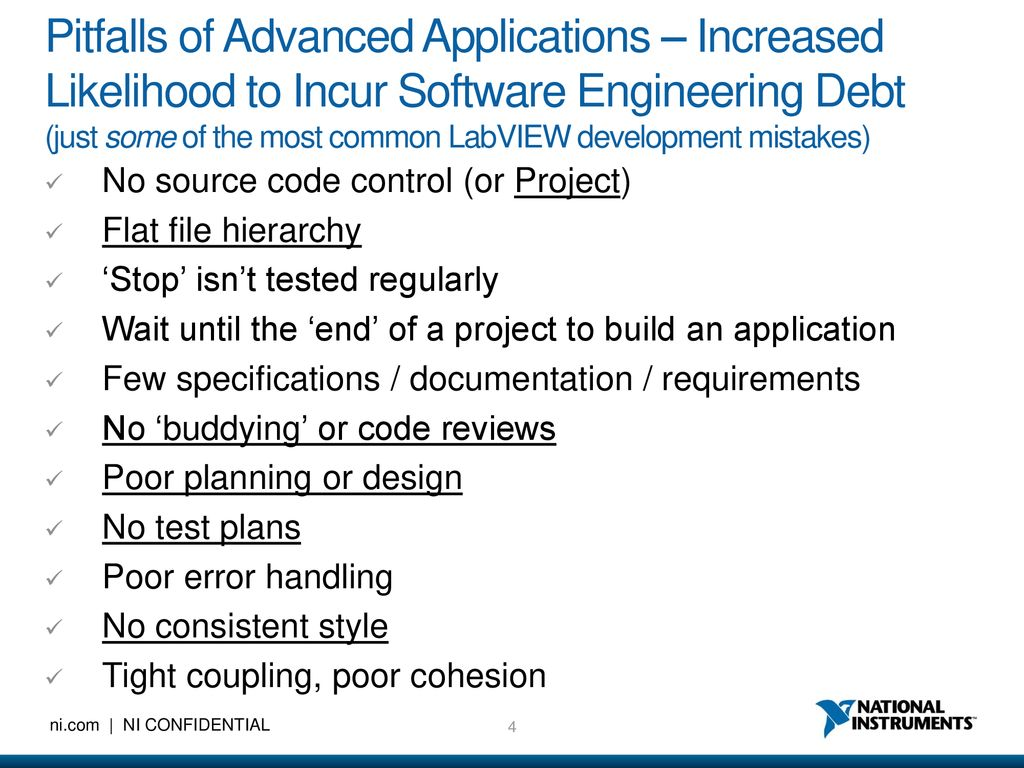 LabVIEW For Advanced Applications - ppt download