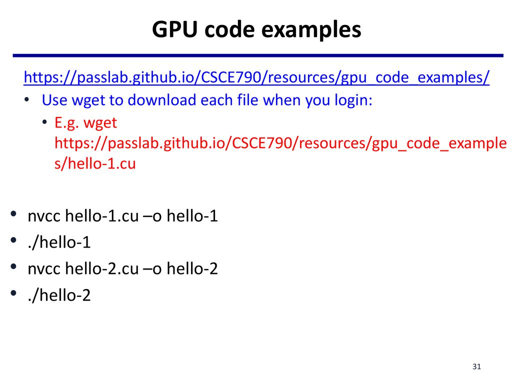 Lecture 11: Manycore GPU Architectures and Programming, Part 1 - ppt