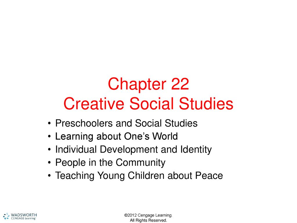 chapter 22 creative social studies ppt download