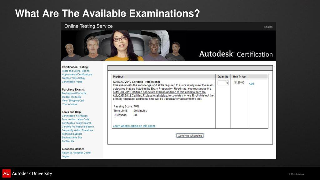 Autocad Certified Exam Preparation Ppt Download