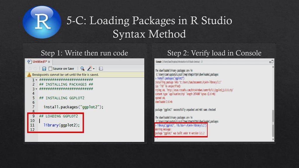 Introduction to R Studio - ppt download