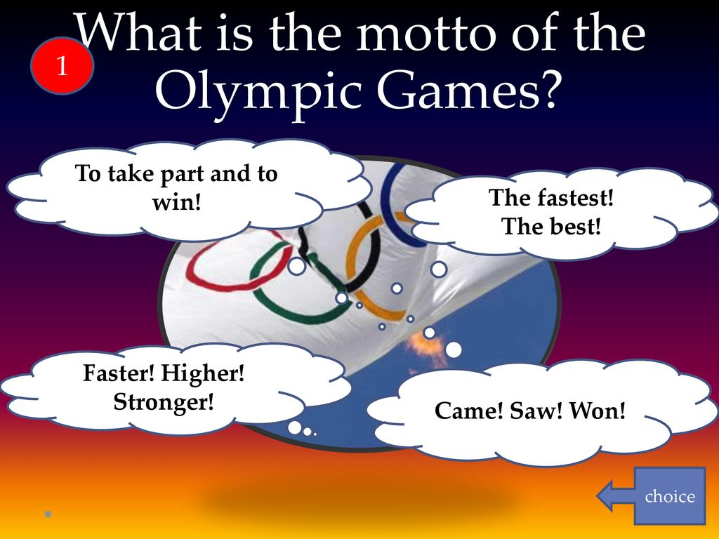The motto of the Olympic Games: how it sounds, history and interesting facts 15