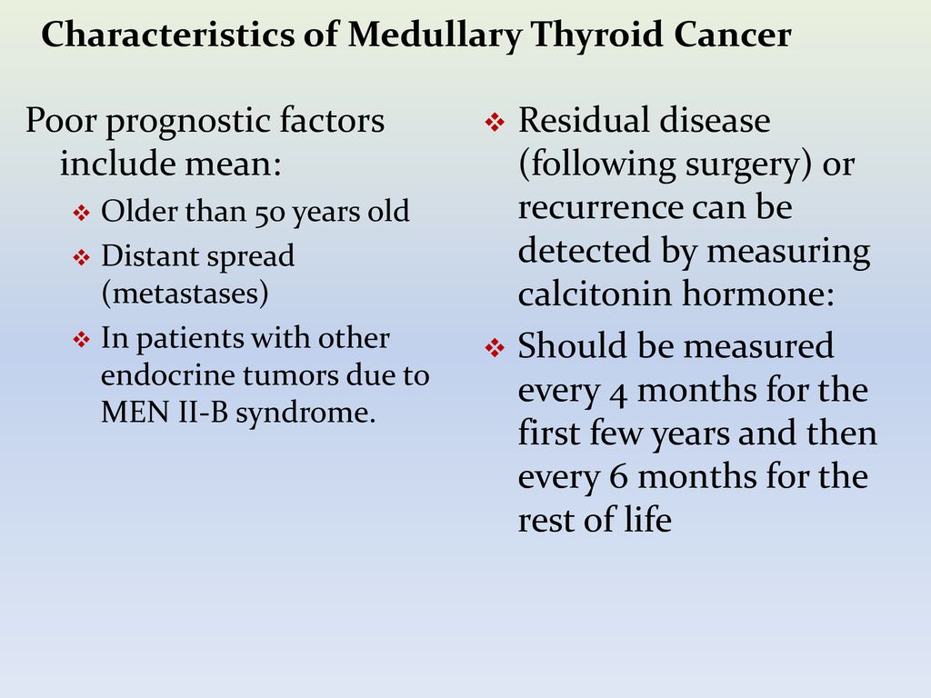 Medullary Thyroid Cancer Ppt Download