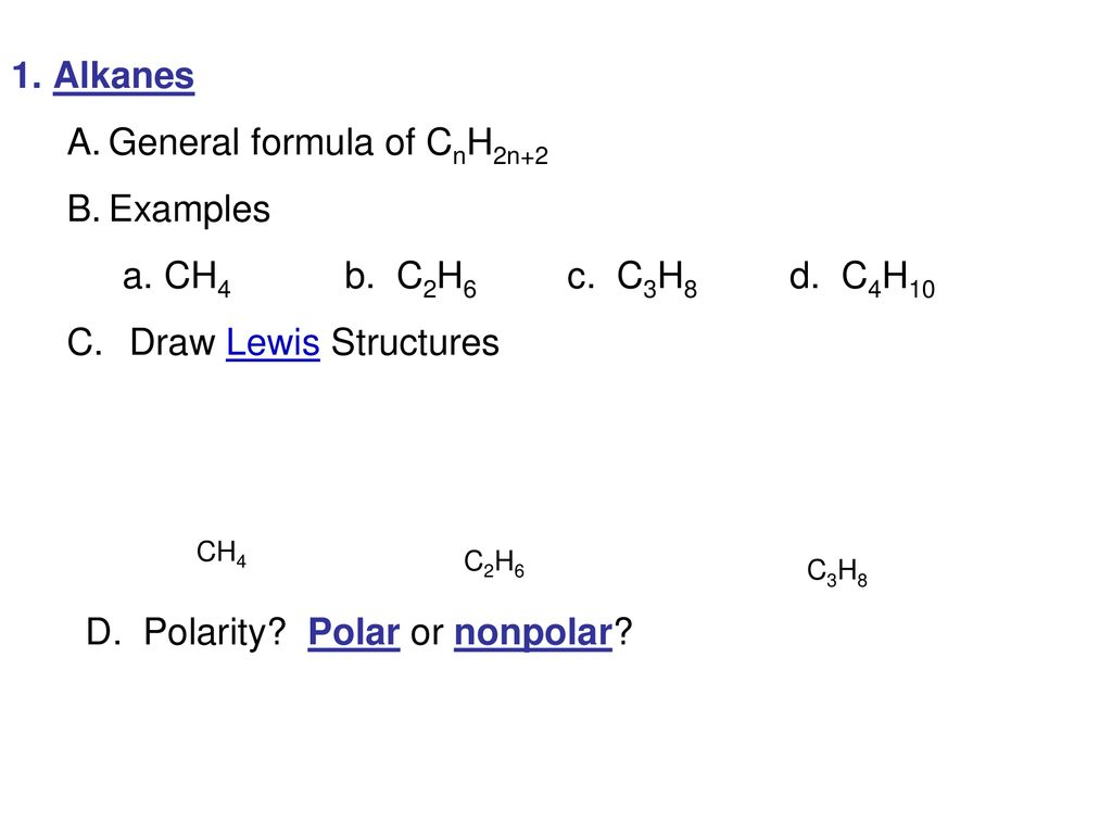 Che 163 Introductory Organic Chemistry Alkanes Ppt Download