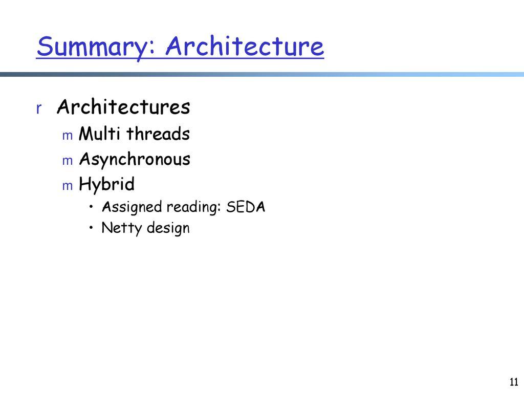 Netty Architecture