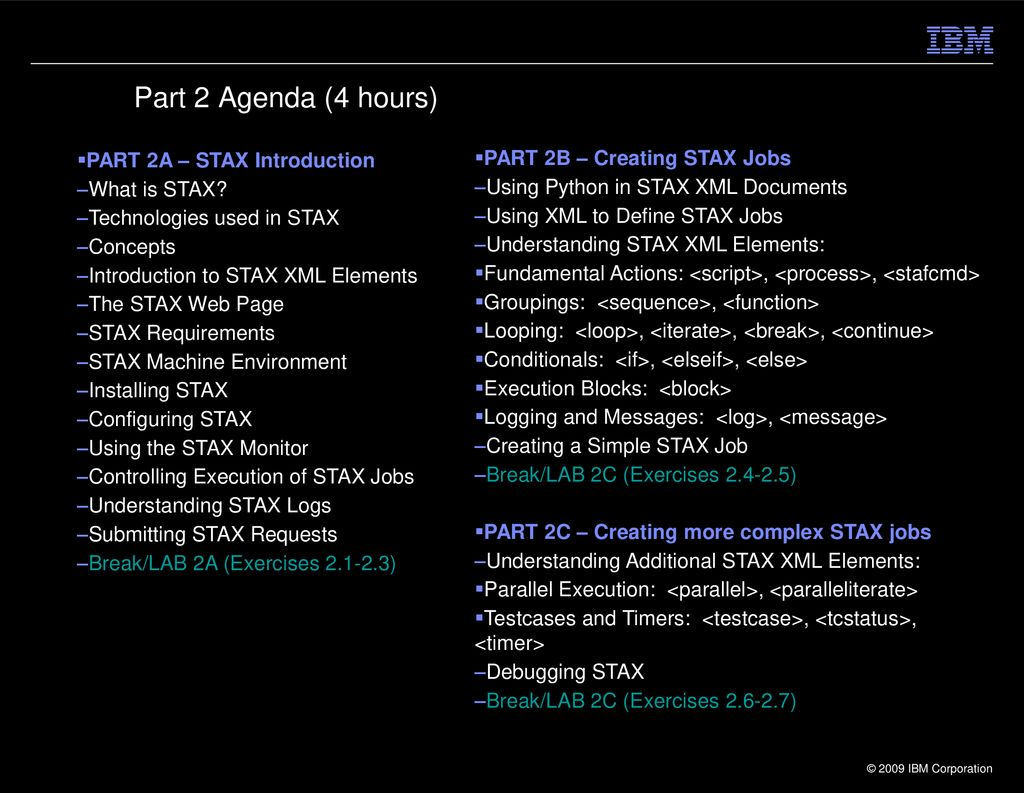 Hands-on Automation with STAF/STAX Parts ppt download