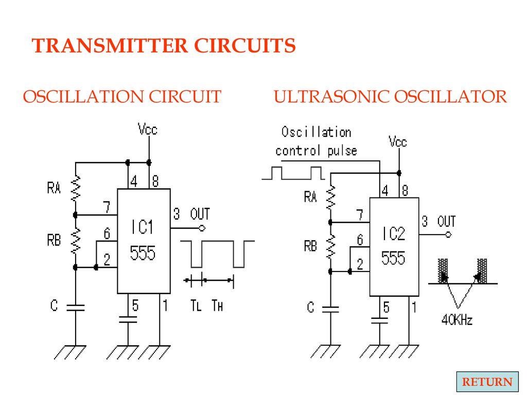 Level Control Using Ultrasonic Ppt Download Transducer Driver Circuitultrasonic 26 Transmitter Circuits Oscillation Circuit Oscillator Return