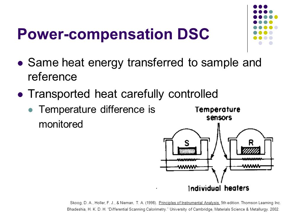 Power-compensation DSC