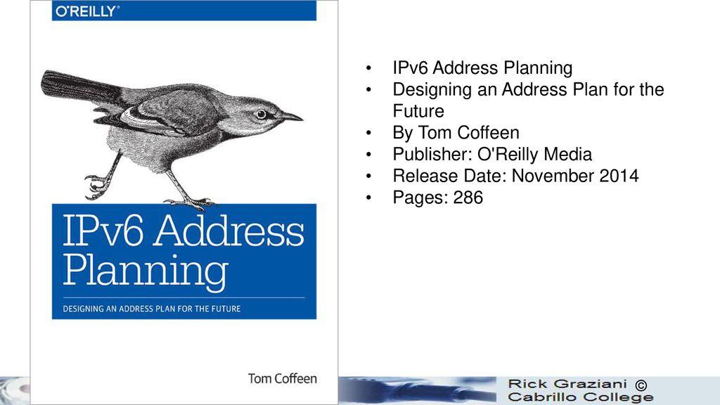 Designing an Address Plan for the Future IPv6 Address Planning