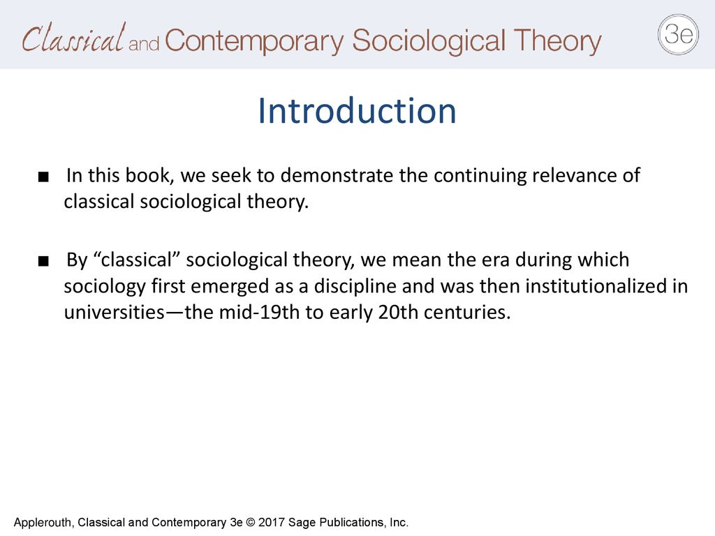 sociology first emerged as a discipline in