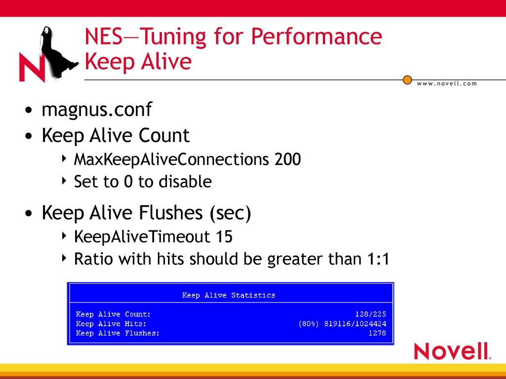 Performance Tuning for Novell Web Services - ppt download