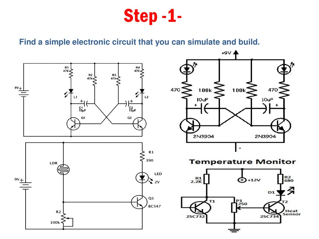 A Printed Circuit Board Ppt Download Simple Electronic Diagram 2 Step 1 Find That You Can Simulate And Build