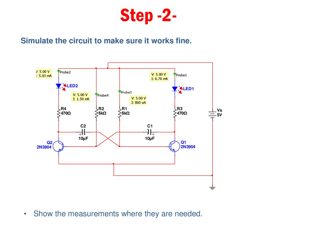 A Printed Circuit Board Ppt Download Make Step 2 Simulate The To Sure It Works Fine