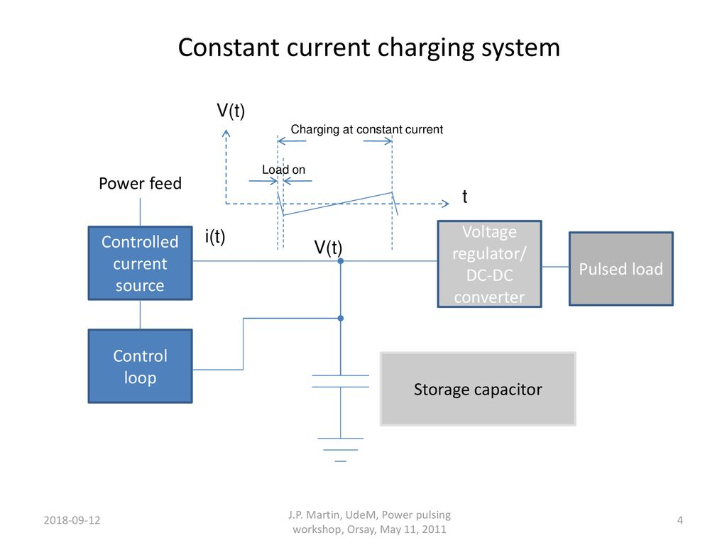 Constant Current Charging Circuit For Power Pulsing Ppt Download Source System