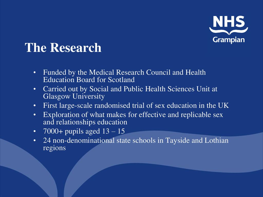 Sexual health and relationships education scotland