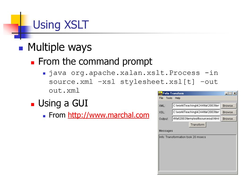 Xslt Ppt Download
